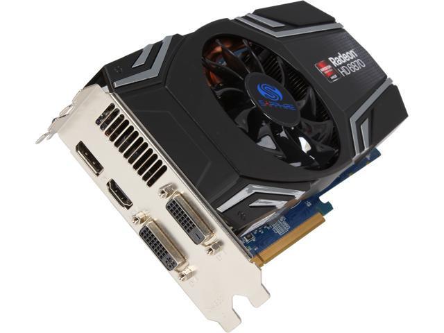 SAPPHIRE Radeon HD 6870 1GB GDDR5 PCI Express 16x HDMI DP ...